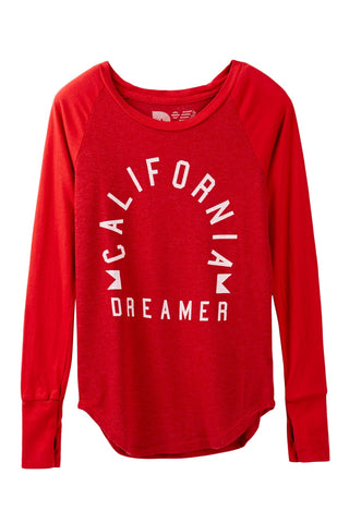 "Rebel Yell ""California Dreamer"" Madison Raglan"
