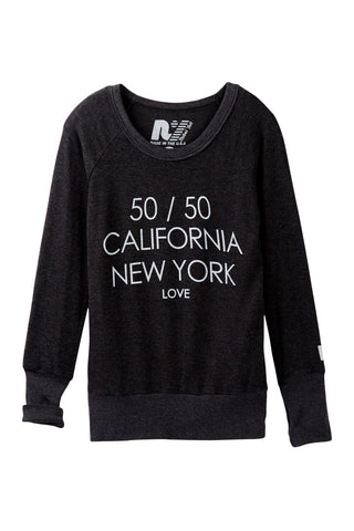 "Rebel Yell ""CA NY Love"" Campbell Sweater"