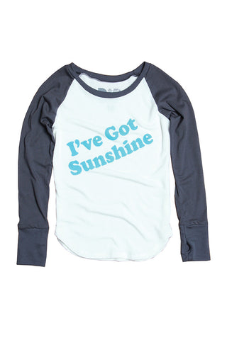 """I've Got Sunshine"" Madison Raglan"