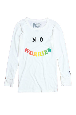 """No Worries"" Riley Long Sleeve"