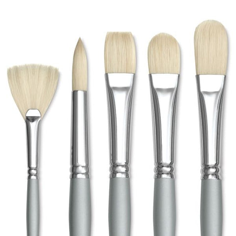 White Bristle Richeson Brushes