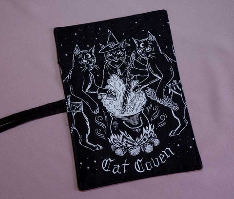 Cat Coven (Silver) - Utensil Wrap