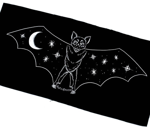 *SALE* Creature of the Night - White Back Patch / Banner
