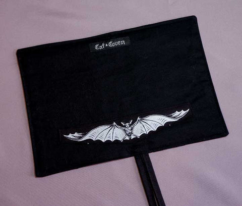 Bat's Flight (Black) - Utensil Wrap
