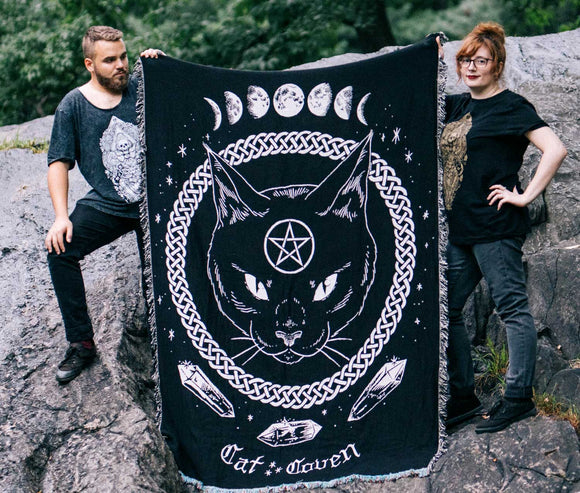 20% OFF // Magickal Protection - Woven Blanket