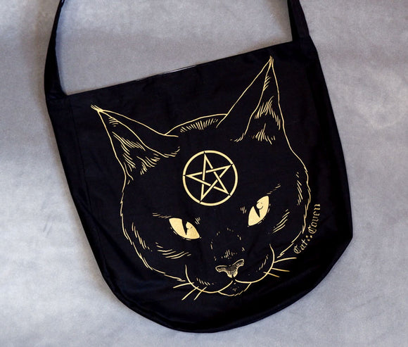 Cat Coven (Gold) - Messenger Bag