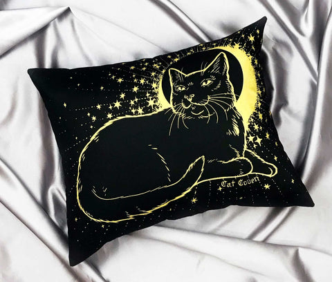 Dream Spell Pillow - Gold