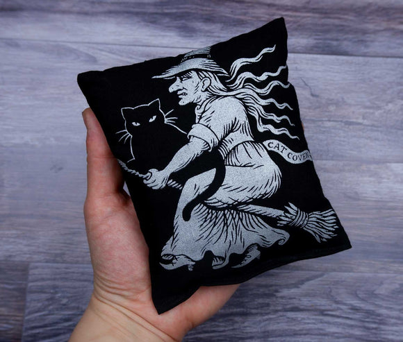 Mini Cat Nip Pillow - Witch