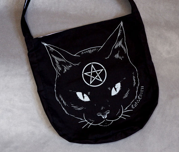 Cat Coven (Silver) - Messenger Bag
