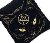 SALE // Cat Coven Pillow - Gold