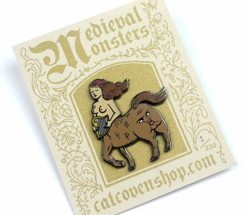 Medieval Monsters: Centaur Pin