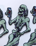 Death & Wine - Embroidered Patch