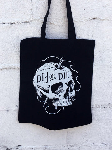 SALE // DIY or Die - Tote Bag