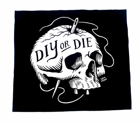 DIY or Die - Back Patch
