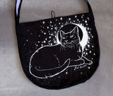 Dream Cat (White) - Messenger Bag