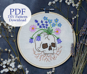 Eternity - Embroidery Pattern PDF DOWNLOAD