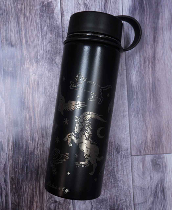 ✷FLAWED✷ Familiars (Silver) - Reusable Bottle