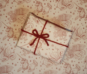 Fantasy Creatures - Wrapping Paper