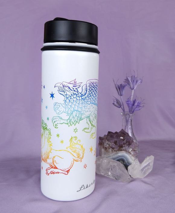 Fantasy Creatures (Rainbow) - Reusable Bottle