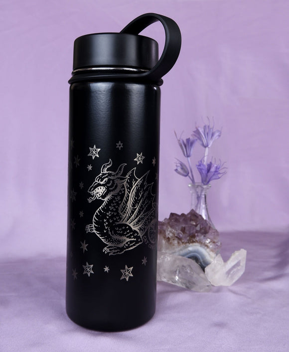 Fantasy Creatures (Silver) - Reusable Bottle