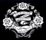 Feminism Means Equality! - Slouchy Tshirt