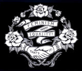 SALE // Feminism Means Equality - Scoop Neck Tshirt