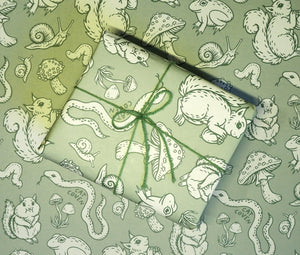 Forest Critters - Wrapping Paper