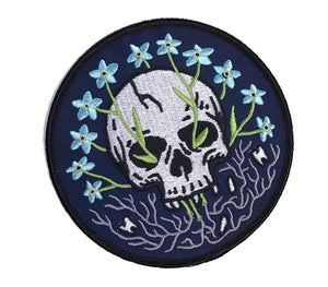 Forget-Me-Not - Embroidered Patch