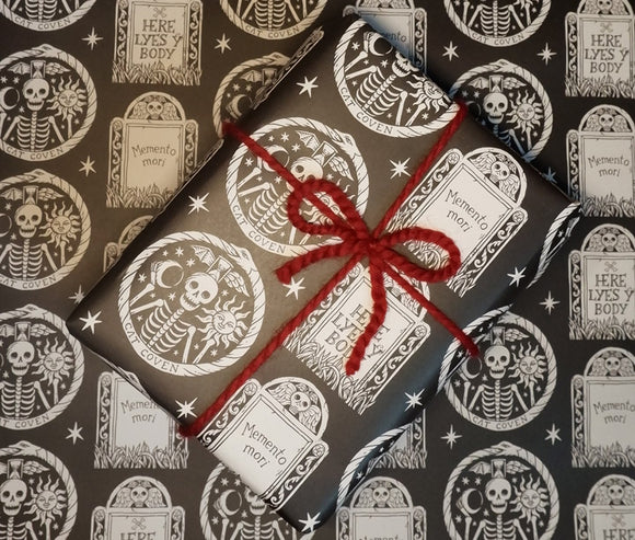 Gravestones - Wrapping Paper