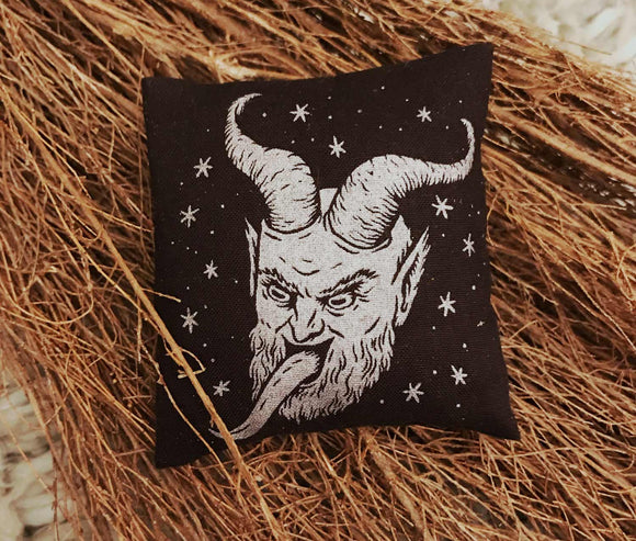 Mini Cat Nip Pillow - Krampus ✷LIMITED EDITION✷