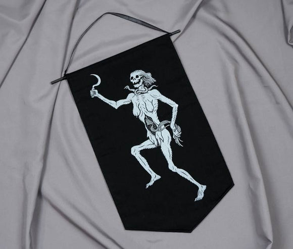 Lady Death (Large) - Handmade Banner