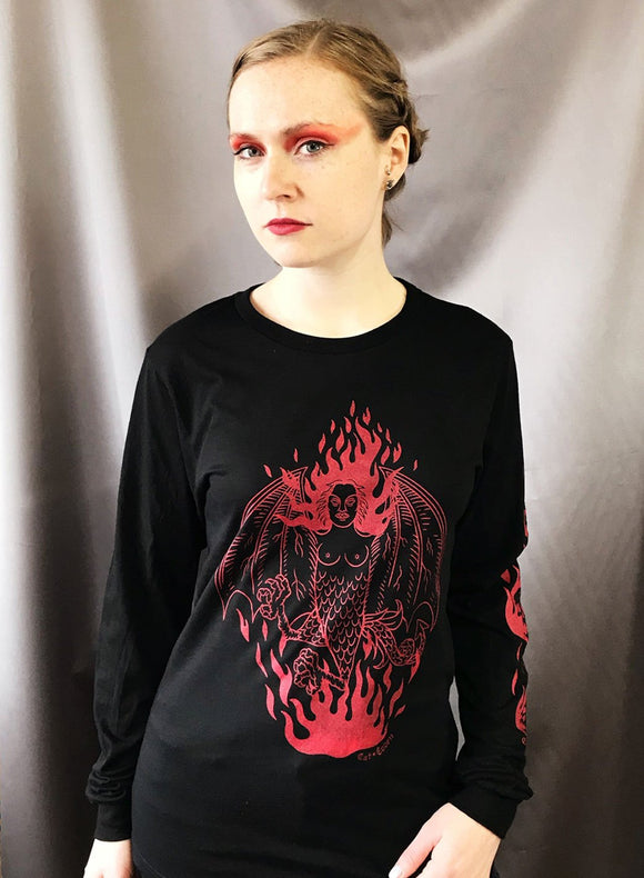 Lady Lazarus - Long Sleeve T-shirt