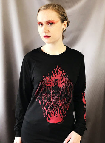 SALE // Lady Lazarus - Long Sleeve T-shirt