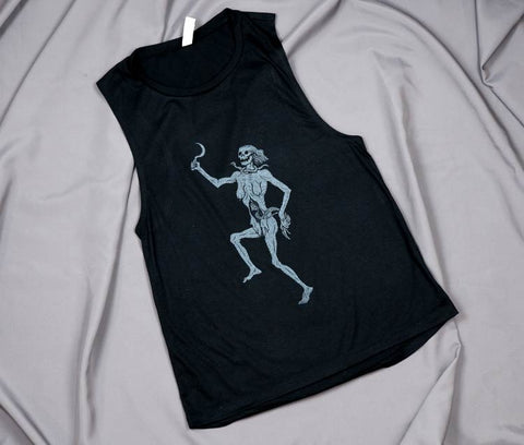 LIMITED 30 - Lady Death - Fitted Tank Top - Medium