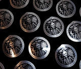 Memento Mori - Metallic Sticker (1)