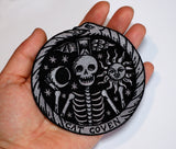 Memento Mori - Embroidered Patch