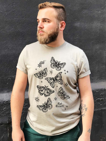 Eclipse of Moths - Crew Neck T-shirt