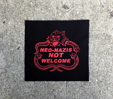 Not Welcome - Small Patch