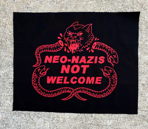 Not Welcome - Back Patch