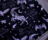 Decorative Pillow Cover - Familiars (Purple)