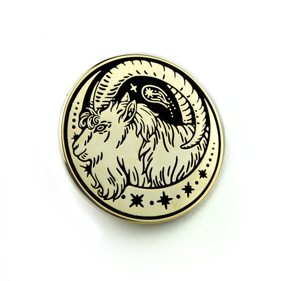 SALE // Curious Wanderer: Gold Pin