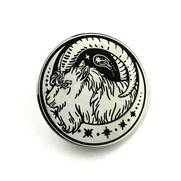 SALE // Curious Wanderer: Silver Pin
