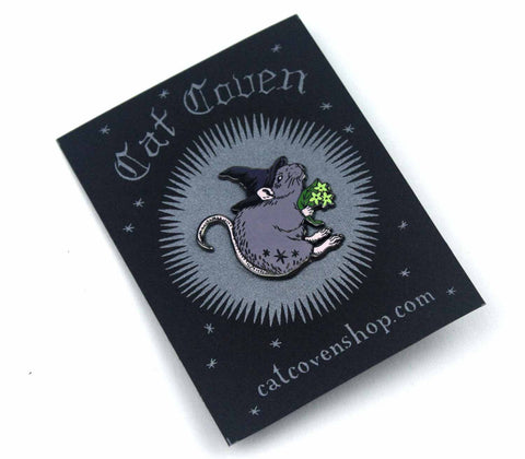 Rat Witch Pin