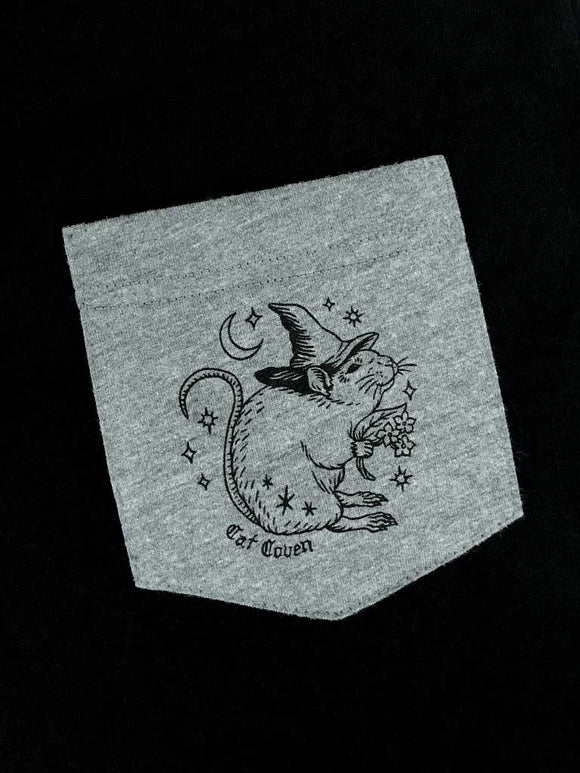 SALE // Rat Witch - Pocket T-shirt