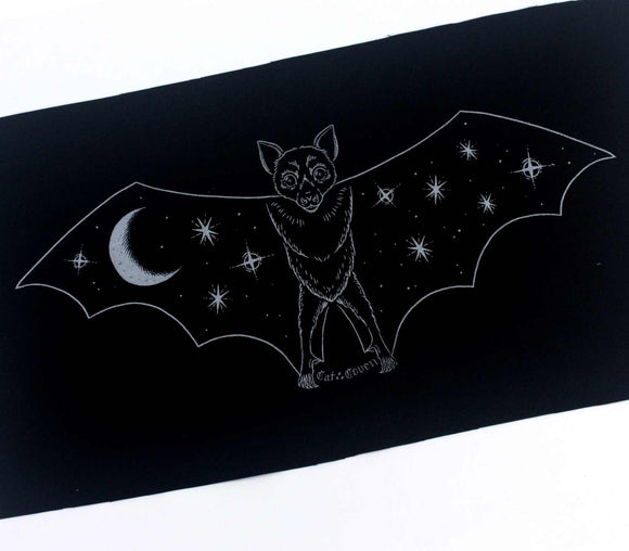 Creature of the Night - Silver Back Patch / Banner