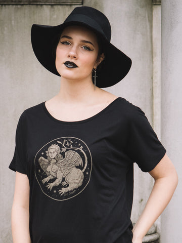 SUPER SALE // The Sphinx - Slouchy T-shirt