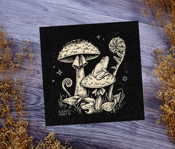 Enchanted Forest: Frog - Fine Art Print