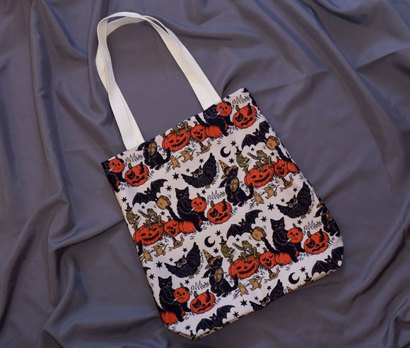 Tote Bag - Halloween Jamboree (Color)