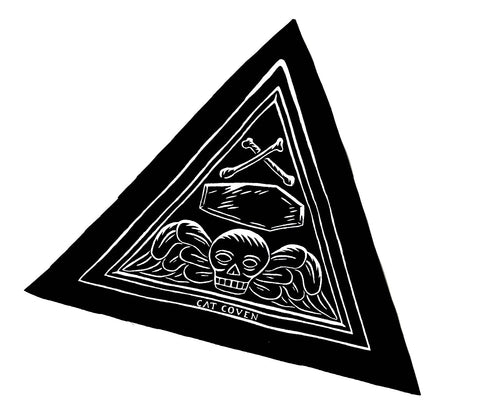 SALE // Death's Head Triad - Big Patch