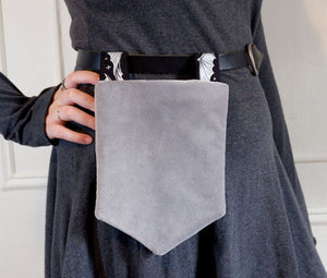 Gray Velvet - Belt Pocket
